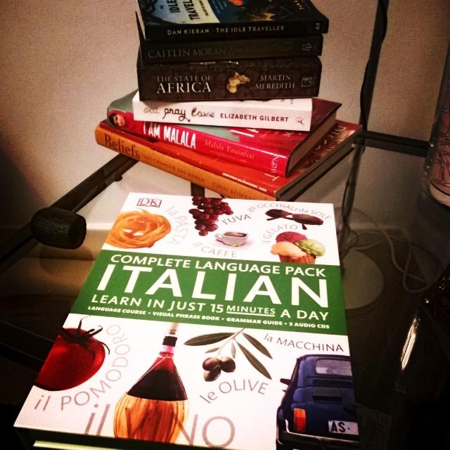 The book I used to learn Italian